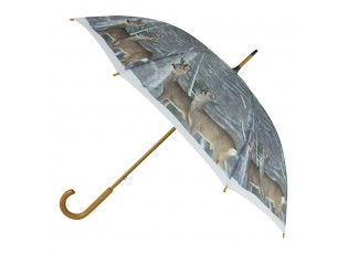 Deštník se srnkami Winter deer - 105*105*88cm