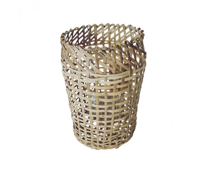 Svícen z bambusových listů - 30*20 cm
