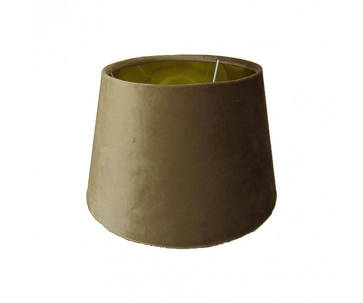 Zlato hnědé sametové stínidlo Dia - 20*30*21cm