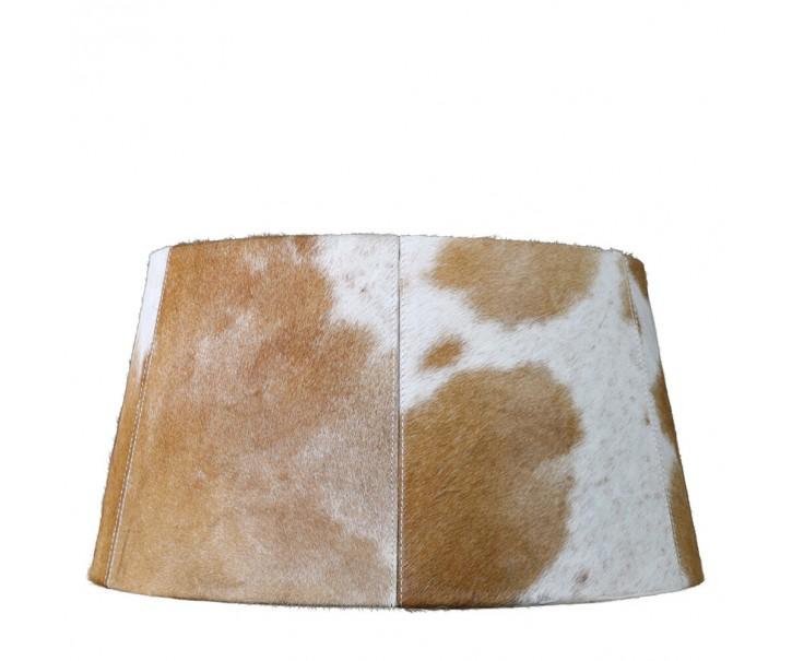 Stínidlo na lampu s designem hovězí kůže - 40 * 50 * 26 cm