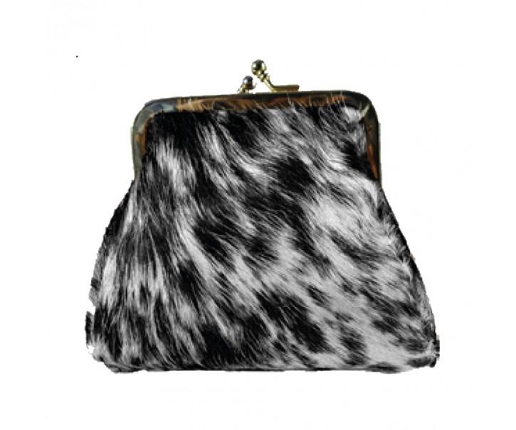 Kapesní peněženka z hovězí kůže - 12*14*8cm