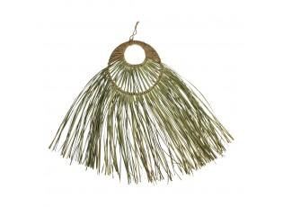 Nástěnná dekorace z mořské trávy - 65 * 26 cm