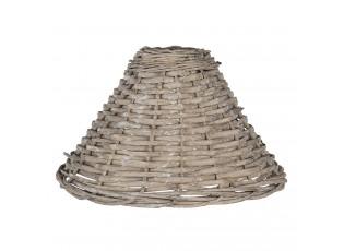 Ratanové stínidlo Moris na lampu - Ø 21*30 cm