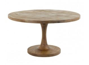 Kulatý dřevěný bistro stolek Bicaba - Ø70*40 cm