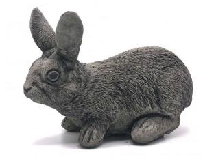 Zahradní betonová dekorace ležící králík - 11*26*20 cm