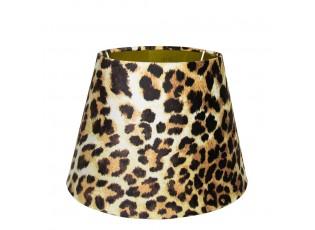 Sametové stínidlo s motivem leopardí kůže - 20*30*h21cm
