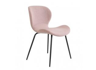 Starorůžová jídelní židle VIOLET - 57*51*78 cm