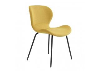 Žlutá jídelní židle VIOLET - 57*51*78 cm