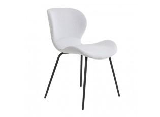 Světle šedá jídelní židle VIOLET - 57*51*78 cm