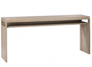 Světle hnědý dřevěný odkládací stůl - 180*40*80 cm