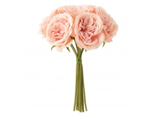 Růžová dekorační kytička Růže - 20*25cm