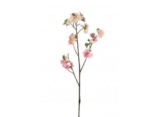 Větvička s růžovými květy Blossom - 22*5*82 cm