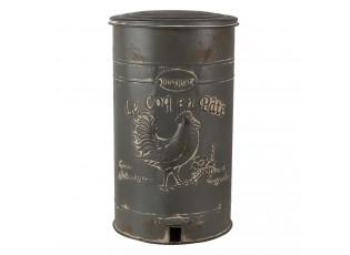 Vintage odpadkový koš Le Coq en Pate - Ø 27*45 cm