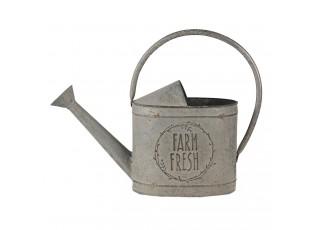 Dekorativní šedá retro konev Fresh farm - 45*16*33 cm