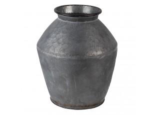 Kovová dekorační váza Moisés - Ø 30*34 cm