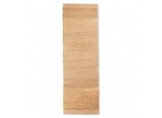 Přírodní dlouhý bavlněný koberec / běhoun Woven - 60*200cm