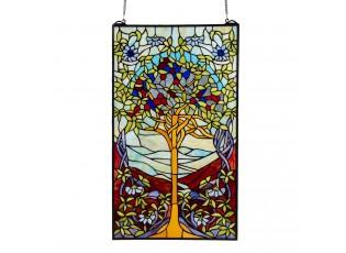 Skleněný nástěnný panel Tiffany Tree - 50*85 cm
