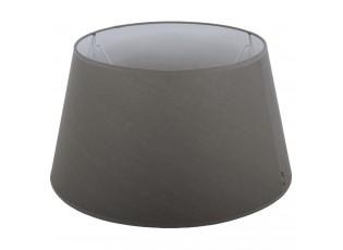 Šedé stínidlo na lampu Eleganza grey - Ø20*12cm / E27