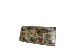 Barevná peněženka British - 20*10 cm