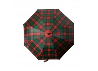 Barevný kostkovaný deštník tartan - 105*105*88cm
