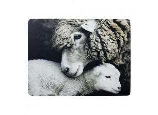 4 ks pevné korkové prostírání Ovce - 30*40*0,4cm
