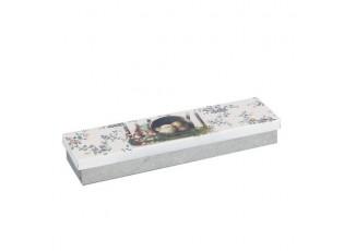 Plechový box - 23*6*3 cm