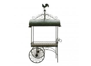 Kovový servírovací vozík Zohan s kohoutem - 154*79*276 cm