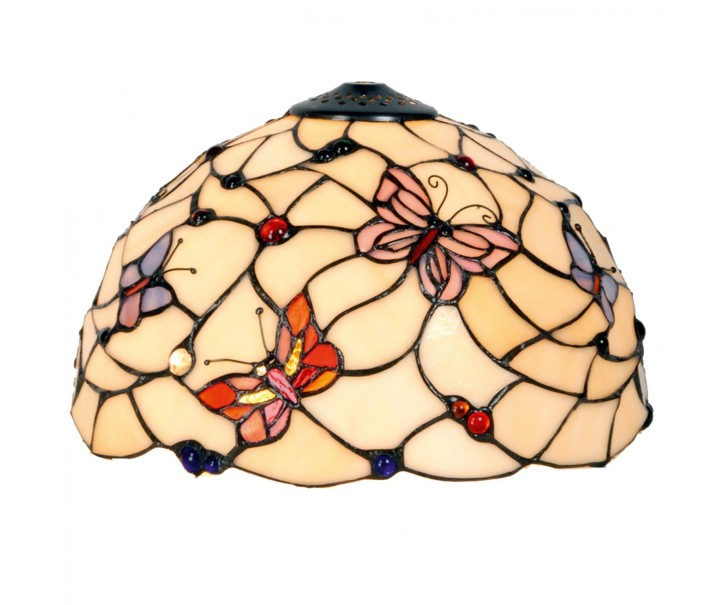 Stínidlo Tiffany Butterfly Garden - Ø 30*20 cm