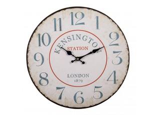 Nástěnné hodiny Kensington - Ø 34*1 cm / 1*AA