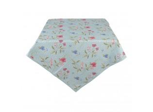 Čtvercový bavlněný ubrus Bloom Like Wildflowers - 100*100 cm