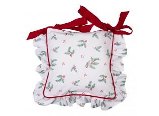 Povlak na polštář na židle Holly Christmas - 40*40 cm