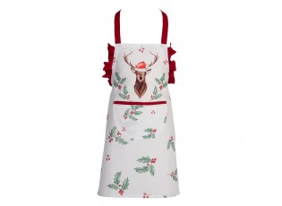 Dětská kuchyňská zástěra Holly Christmas - 48*56 cm