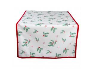 Běhoun na stůl Holly Christmas - 50*140 cm
