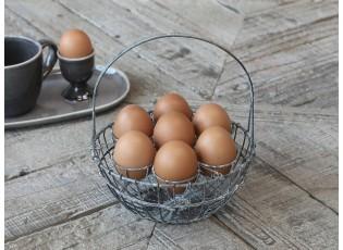 Kovový držák na 7 vajíček - Ø18*22 cm