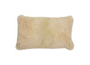 Obdélníkový béžový polštář Ovis - 50*30*15cm