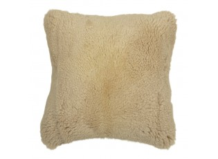 Čtvercový béžový polštář Ovis - 40*40*15cm