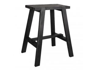 Dřevěná hnědá stolička FawnD - 50*39*58 cm