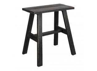 Dřevěná hnědá stolička FawnP - 42*28*43 cm