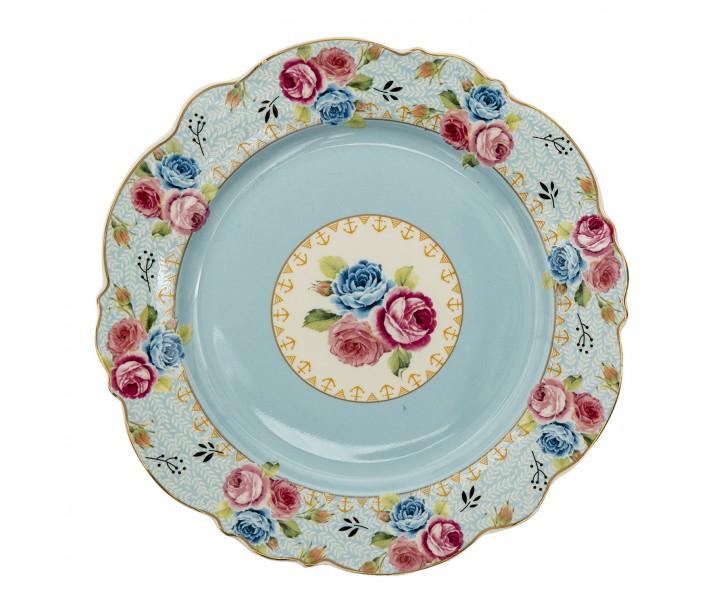 Dezertní talíř Blue Garden - Ø 20*2 cm