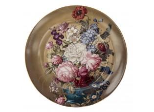 Jídelní talíř Flower Sun - Ø 26*2 cm