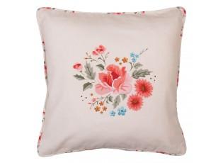 Bavlněný povlak na polštář s květy Little Rose Colletion - 40*40 cm