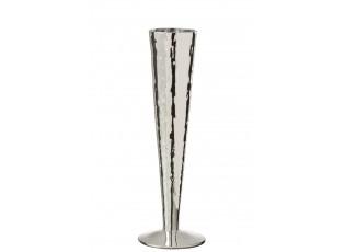 Stříbrná sklenička na šampaňské Oil transparent - Ø 7*23 cm