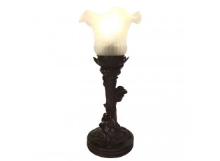 Stolní Tiffany lampa Arjean - Ø 12*31 cm