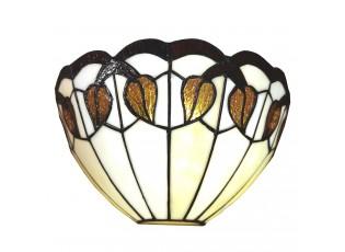 Nástěnná Tiffany lampa Helaine- 31*15*21 cm