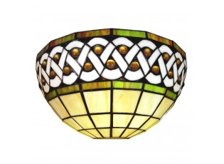 Nástěnná Tiffany lampa Nancy - 31*15*21 cm