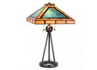 Stolní Tiffany lampa Ambra - 61*61*73 cm