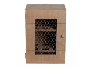 Dřevěná skříňka na vajíčka - 17*12*24 cm