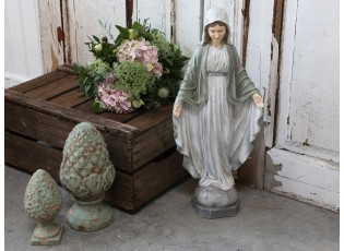 Dekorační socha panenky Marie - 26*12*61 cm