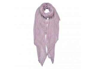 Světle fialový šátek - 100*200 cm