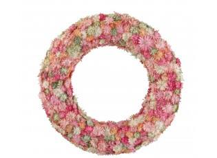 Věnec se sušenými květy Dried mix  - Ø 27*3,5 cm